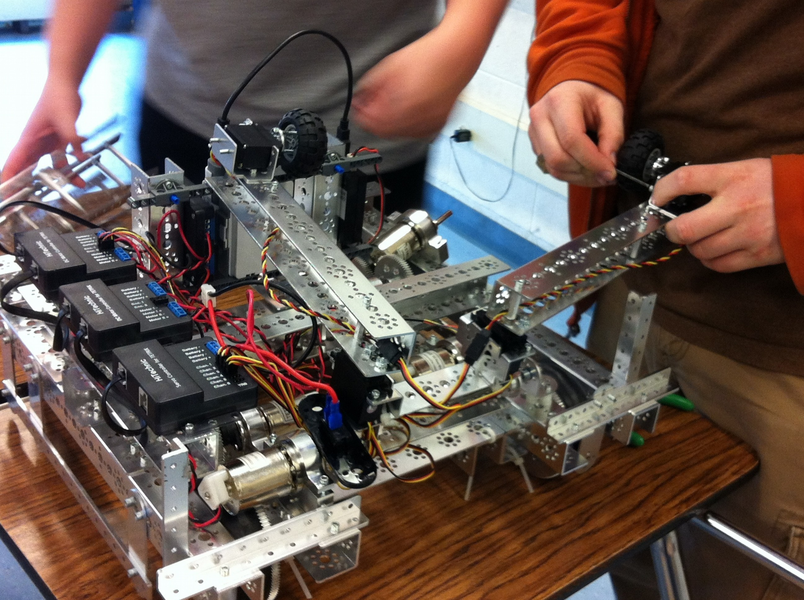 Club Spotlight: Robotics Club – The Warrior Weekly