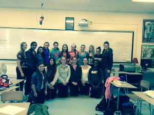 This year's Interact Club is preparing to go to the United Nations in New York. (Courtesy Photo)