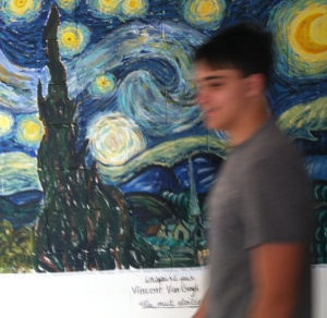 If Ms. Fisher has her way, Van Gogh's stars may not be the only ones students experience here at AHS.