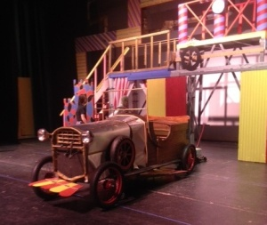 """You will believe a car can fly…if you check out """"Chitty Chitty Bang Bang"""" in the Collins Center this weekend. (Photo by Ryan Cadigan)"""