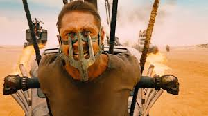 "Tom Hardy plays the title character in the ridiculously insane but nonstop fun ""Mad Max: Fury Road."" (Warner Bros. Pictures)"