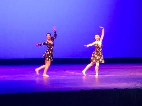 Seniors Sonali Sikder (left) and Emily Bartner